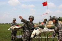 The PLA have been practicing live fire drills along the Sino-Burmese border. (PHOTO: ChinMil.com.cn).
