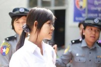 Yadana Su Po Khine, also known as Po Po, who was arrested on 8 April (Photo: DVB)