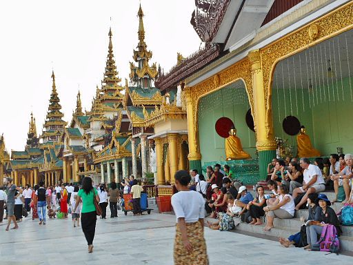 Burma's tourism industry is growing fast. (PHOTO: Wikicommons).