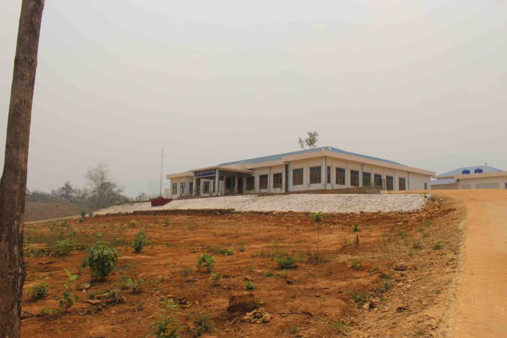 (New government built hospital in Karen State. Photo: Libby Hogan)